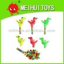 promotional plastic dragon shape toy for children candy toy