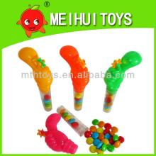promotional plastic thumb shape toy for children candy toy