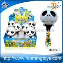 2014 Kids happy plastic china toy candy panda candy toys for kids H105979