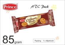 85 gram Chocolate Cream biscuits In ATC Pack Prince Cream