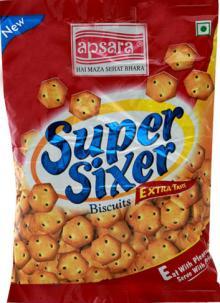 Super Sixer Salted biscuits