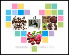 DIY chocolate  3d   machine  for snack shops,cafe  and family