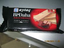 aytac wafer with cocoa 65 gr.x24x4