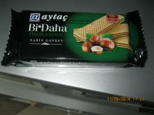 aytac wafer with hazelnut 65 gr.x24x4
