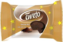 TWETO CAKE WITH COCOA 25 GR.