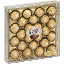 Ferrero Rocher Fine Hazelnut Chocolates - 10.6 oz box