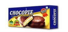 Dark Chocolate Pie Filled with Marshmallow