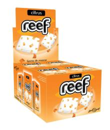 65628 Reef Glazed Chewing Gum in Flip Top - Citrus