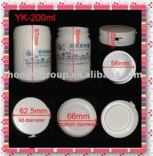 plastic chewing  gum  container 200ml, xylitol   gum   bottle s