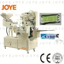 JY-800T Two Papers Dragee Chewing Gum Stick Wrapping Machine