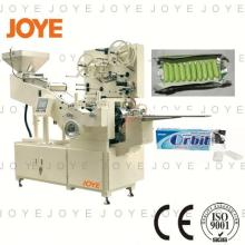 Automatic JY-800T Flow Orbit Chewing Gum Stick Packing Wrapping Machine With Competitive Price