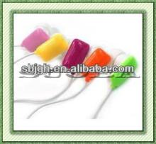 ShenZhen chewing gum earpieces  used  in mp3 mp4 cellphone  computer