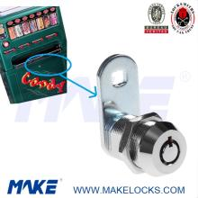 High security pin machanism cam lock for chewing  gum   vending  machine