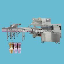 egg yolk pie, chocolate Automatic Bread Packing Machine/ Flow Wrap Machine