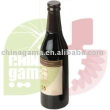 Wooden Pepper Mill in Beer Bottle Shape