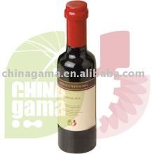 Small Wooden Pepper Mill in Wine Bottle Shape