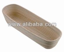 Oval brotform - Oval bread proofing basket - Rattan cane basket - Baking Bread basket