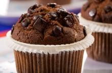 CHOCOLATE MUFFIN WITH YOUR LABEL