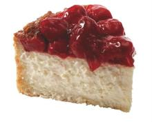 Top strawberry Cheesecake