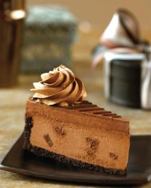 Godiva Double Chocolate Cheesecake