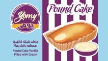 Yomy Pound  Cake  filled with  Cream