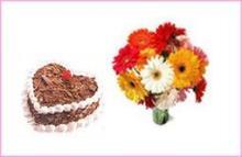Cake & Flower Combo2 (1 KG)
