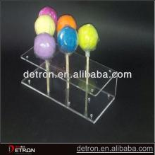 Best Design High  quality  clear acrylic lollipop display rack