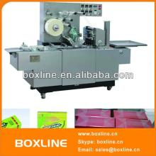 Automatic cellophane chewing gum  box   wrapping   machine