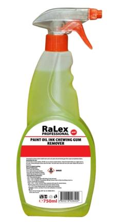 RaLex Professional Paint, Oil, Ink, Chewing Gum Remover, 750ml