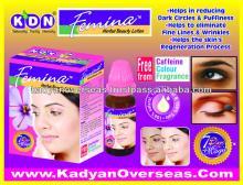 Under  Eye  Circles Femina Herbal Beauty Lotion 100% Natural Formulation from KDN Biotech Pvt Ltd., In