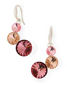 Alibaba Express Fashion Jewelry 925 sterling silver Lollipop Earrings Made with Swarovski Elements V