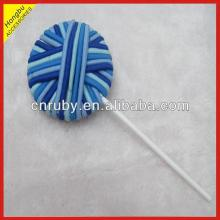 Elastic  Hair  Band Ball lollipop for Kids