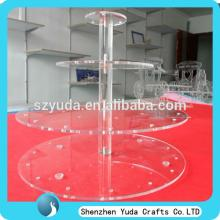cheap tabletop 4 tier acrylic lollipop display rack high  quality  from China