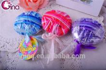 24pcs kids colorful lollipop elastic hair band, candy hair elastics