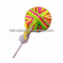lollipop  hair  elastics with ribbon bow