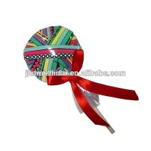 Cute Lollipop Logo Printed Elastic Hair Bands