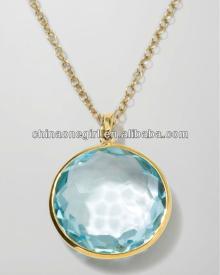 Rock Candy Lollipop Pendant Necklace
