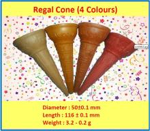 Molded Wafer Cones - Regal