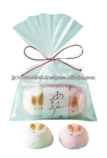 Japanese rabbit motif marshmallow thanks gifts
