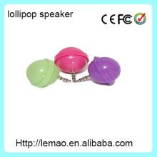Lollipop  MP3   Player  Speakers Novelty-Assorted Colors