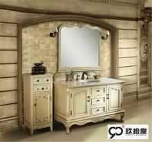 Original sharp dark chocolate bathroom vanity
