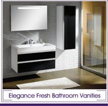 low price large dark chocolate bathroom vanity