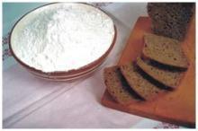 Flour the rye baking