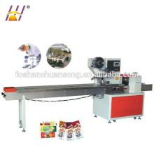 Horizontal  multi - function  flow packing machine for cookies / biscuits / maffin / wafer / bread / cho