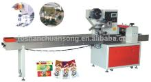 Horizontal packaging  machine s for biscuits / bread / pies / sandwich / egg rolls