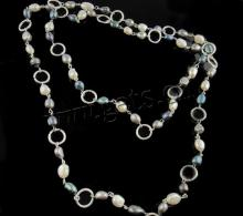 freshwater  pearl  marshmallow  necklace
