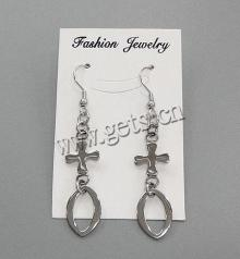 Gets.com stainless steel marshmallow earrings