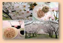 Cherry tree buckwheat noodles Petal