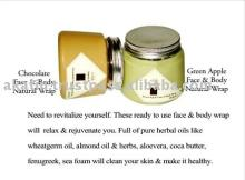 Dark Chocolate Natural face & Body wraps