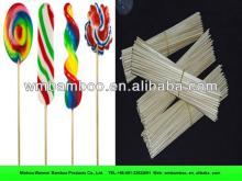 natural marshmallow bamboo skewer making